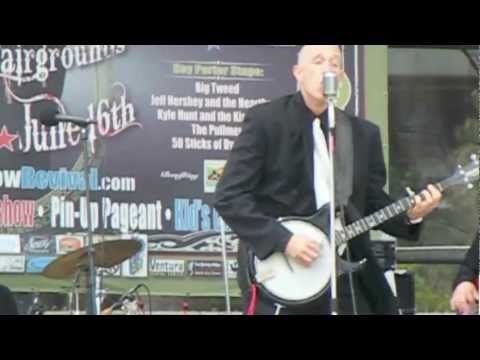 Electric banjo shredding - Crossfire rock and roll!