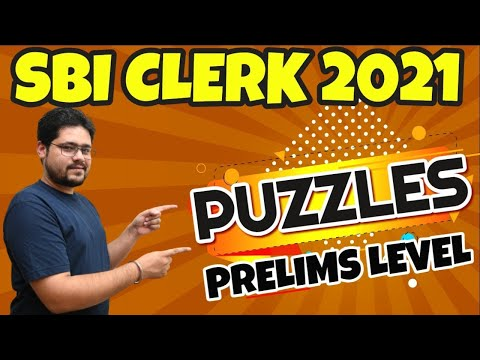 PUZZLES FOR BANKING EXAMS ||SBI PO, IBPS PO,RRB PO,IBPS ...