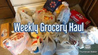 Weekly Grocery Haul | Walmart Grocery Pickup 🛍