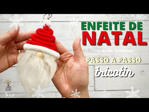 Enfeite de Papai Noel