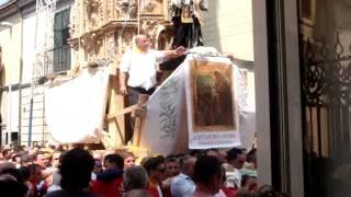 preview picture of video 'festa del giglio recale via municipio'