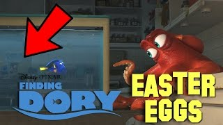Finding Dory Easter Eggs, References, & Pixar Theory Explained