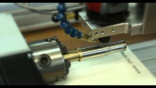 Gravur V2A E-Zigarette / Engraving e-cigarette from stainless steel with cnc router
