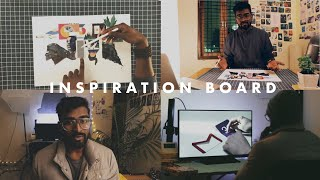 HOW TO MAKE INSPIRATION BOARD FOR NIFT DESIGN STUDENT