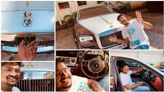 I Rented ₹6.21 Crores Rolls Royce in Chennai   Luxury Car Review   Vijay Travelled Car