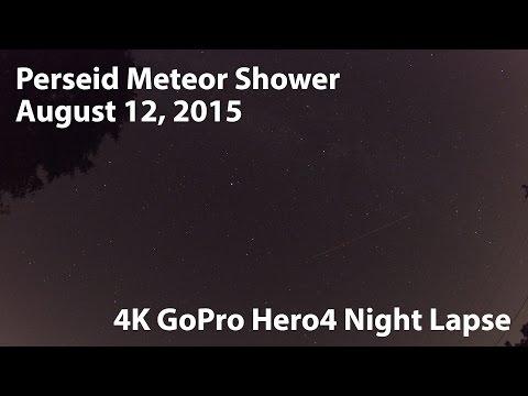 Perseid Meteor Shower August 12, 2015