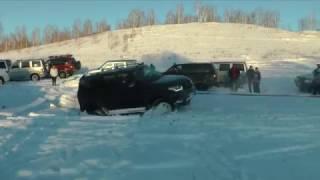 Внедорожные прогулки: Челябинск - Травники - Кундравы - Нурали - Челябинск 14 января 2017