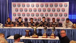 2019 Navy Football Liberty Bowl Postgame Press Conference & Trophy Presentation