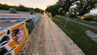 Evening Skatepark FPV Cruise
