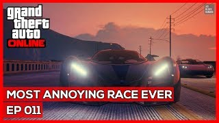 GTA Online #11 - Most Annoying Race Ever!