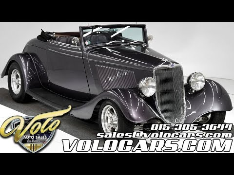 1934 Ford Custom (CC-1316252) for sale in Volo, Illinois