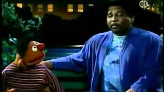 Sesame Street: Ernie and Aaron Neville - I Don't Want To Live On The Moon