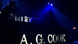 A.G. Cook ft. QT/Hannah Diamond/Charli XCX - Live at PC Music Pop City L.A. 7/20/2016