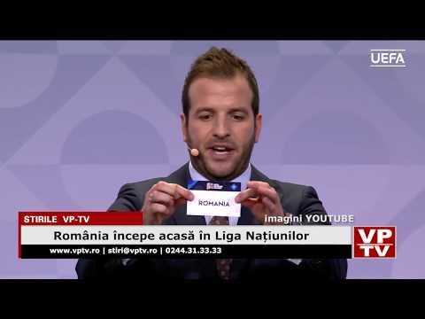România începe acasă în Liga Națiunilor