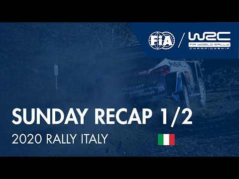 WRC ラリー・イタリア・サルディニア 日曜日に行われたラリーダイジェスト動画1