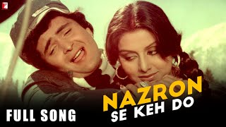 Nazron Se Keh Do - Full Song | Doosara Aadmi | Rishi Kapoor