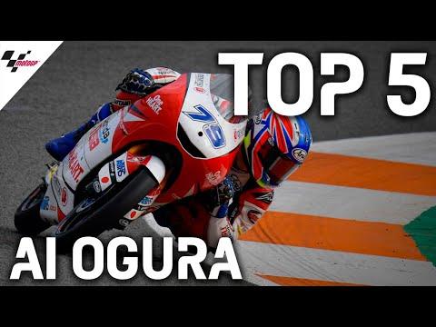 Moto3で大活躍中の小椋藍が見せたレース中の名シーンベスト5をまとめたハイライト動画