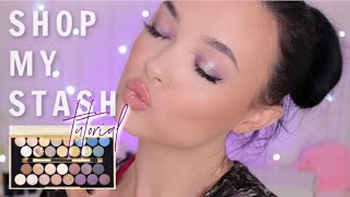 SHOP MY STASH ft REVOLUTION FORTUNE FAVOURS THE BRAVE | monthly makeup mixup | CINDYLOUBINDI
