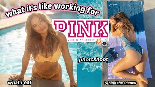 My experience modelling victoria's secret pink... tea