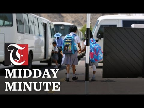 Midday Minute: School buses to get tracking system