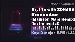 Gryffin   Remember (Madison Mars Remix) (Instrumental)