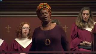 "Solo, ""O Divine Redeemer"" sung by Angela Brown at Marble Church, NYC on Sunday, Nov. 20, 2016"