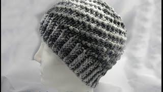 Tunesisch Häkeln Mütze Häkelmütze 54 56 Cm Kopfumfang 7 Meilen