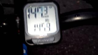Разгон велосипеда до 147 км\ч (Экспресс мойка колёс :) )