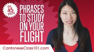 Phrases to Study on Your Flight to Hong Kong