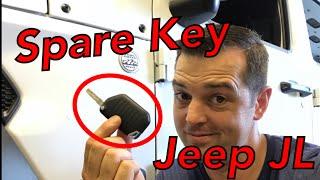Spare key Hack Jeep JL Wrangler