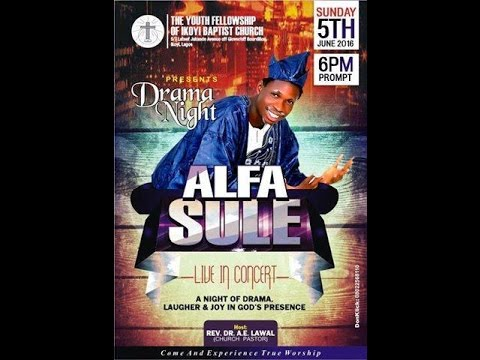 LIVESTREAM - Alfa Sule Live In Concert Youth Week Day 1