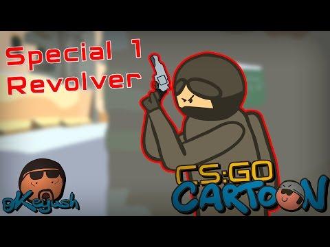 CS:GO Cartoon.  Special 1 Revolver