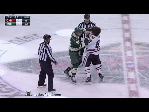 Mathew Dumba vs. Andrew Shaw