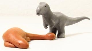 Sleeping Tank | Minisaurs | Dinosaur Animation Short - dooclip.me