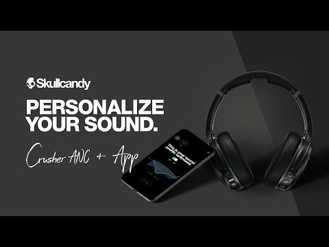 Skullcandy Crusher ANC (Fearless Black, ANC)