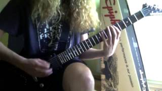 ANTHRAX - PANIC GUITAR COVER HQ