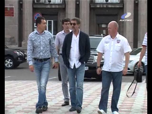 Ангарск посетил актер Леонид Ярмольник