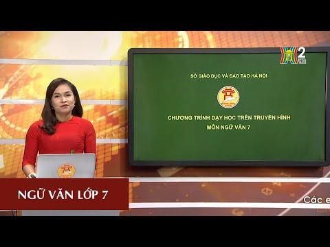 MÔN NGỮ VĂN - LỚP 7 | CÁCH LÀM BÀI VĂN LẬP LUẬN CHỨNG MINH | 9H15 NGÀY 08.04.2020 | HANOITV