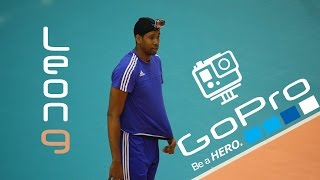 Wilfredo Leon: Training of the best volleyball player. GoPro Edition! / Тренировка от первого лица!