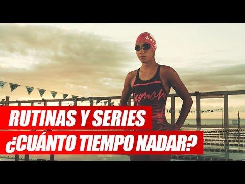 Rutinas y Series de Natación ¿Cuánto nadar?