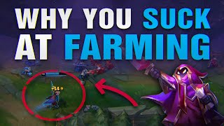 Why you actually SUCK at FARMING mid game
