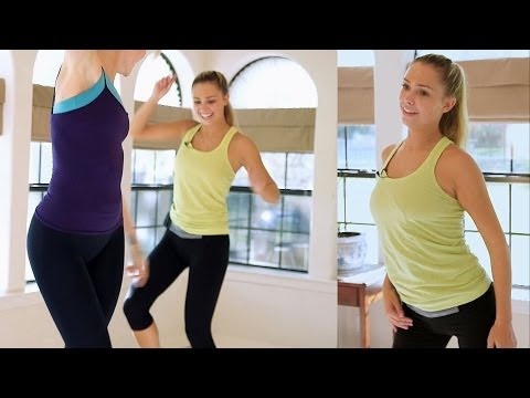 Fun Beginners Dance Workout For Weight Loss - At Home Cardio Exercise Dance Routine