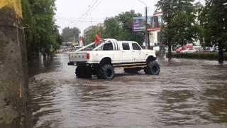 Черновцы депот, дождик.(1)