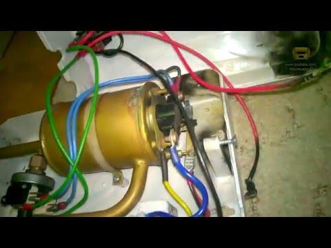 Суровый ремонт проточного водонагревателя
