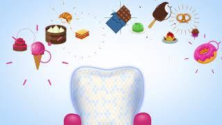 Действие формулы REMINACT в зубных пастах #glister #zdorovie