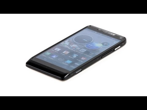Youtube Video Motorola RAZR i schwarz
