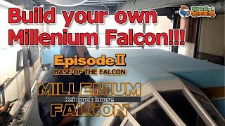 (episode 2) Build your own Millenium Falcon!!!