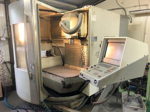 Centrum frezarskie pionowe CNC DECKEL MAHO DMU 60 T 2002