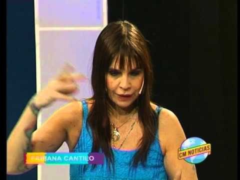Fabiana Cantilo video Entrevista CM - Diciembre 2015