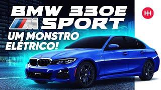 TESTAMOS O BMW 330E Sport 2020 ⚡ SEDAN Híbrido Que SURPREENDE😱Avaliação Completa BMW 330e Série 3
